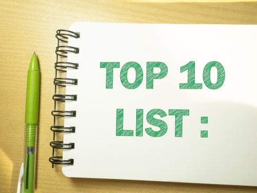 TOP10リスト